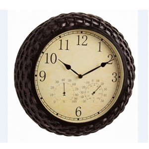 Изображение Часы, термометр + гигрометр Winchester 37,5см
