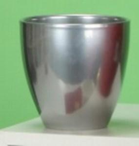 Изображение Кашпо  620 Metal D15см, керамика