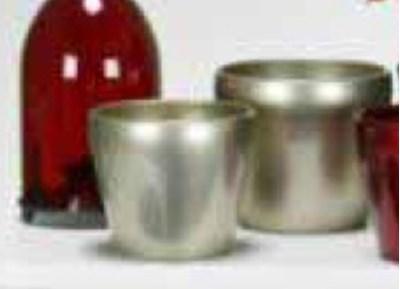 Изображение Кашпо  800 Vive Cream D15см, керамика