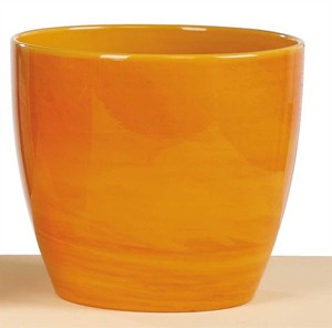 Изображение Кашпо  920 Yellow Marble D16см, керамика