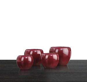 Изображение Кашпо 740 Dark Red D23cм, керамика
