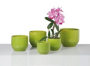 Изображение Кашпо 820 Pure Green D14cм, керамика
