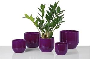 Изображение Кашпо 820 Pure Violet D14cм, керамика