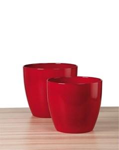 Изображение Кашпо 920 Energy Red D28cм, керамика