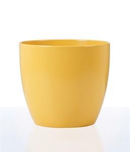 Изображение Кашпо 920 Gelb matt D28cм, керамика