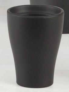 Изображение Кашпо для орхидеи 608 Anthrazit D22cм, керамика