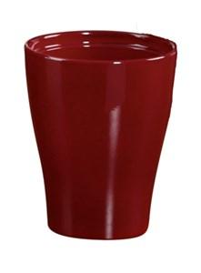 Изображение Кашпо для орхидеи 608 Dark Red D22cм, керамика
