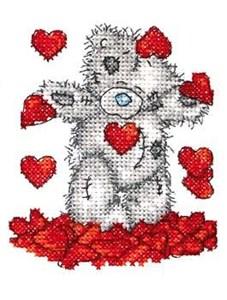 Изображение Душ из сердец (shower of hearts)