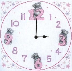 Изображение Часы с мишками Тедди(Tatty Teddy)