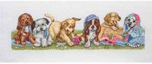 Изображение Щенкив ряд (Puppies in a Row)