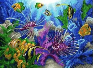 Изображение Тропические рыбки
