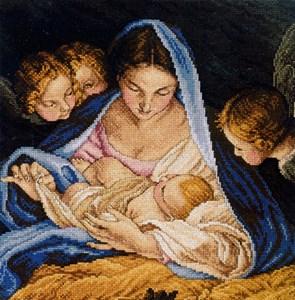 Изображение Мадонна и ангелы (Madonna and Angels)