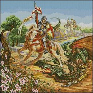Изображение Георгий и дракон (George and the Dragon)