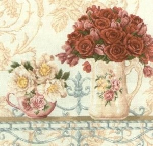 Изображение Ситец и розы (Chintz and Roses)