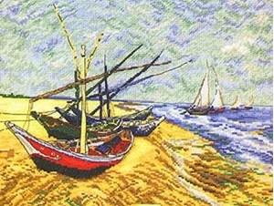 Изображение Лодки в сент-Марисе(Boats in the Sept. Maris)