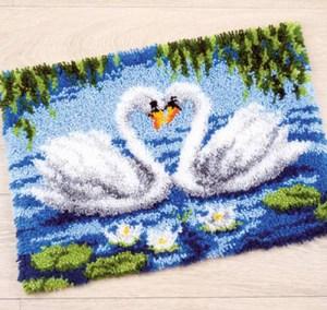 Изображение Лебединое озеро (коврик)
