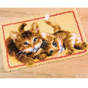 Изображение Играющие котята (коврик)