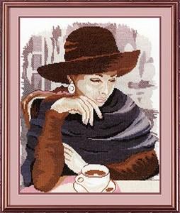 Изображение Девушка в кафе