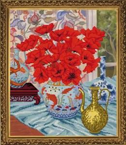 Изображение Цветочный натюрморт. Маки