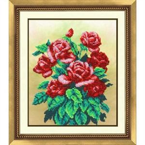 Изображение Букет алых роз