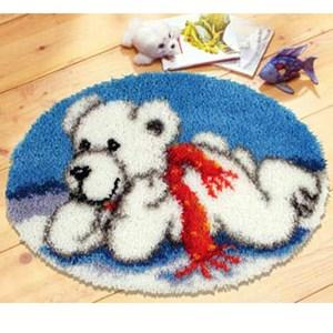 Изображение Белый медвежонок (коврик)