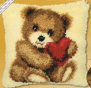 Изображение Влюбленный медвежонок (коврик)
