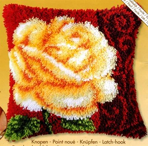 Изображение Желтая роза (коврик)