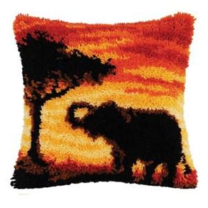 Изображение Закат слон (коврик)