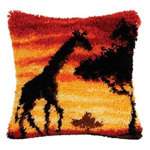 Изображение Закат жираф (коврик)