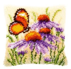 Изображение Бабочка и рудбекия (коврик)