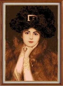 Изображение Портрет прекрасной леди