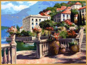 Изображение Средиземноморский пейзаж 2
