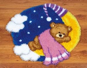 Изображение Мишка на луне (коврик)