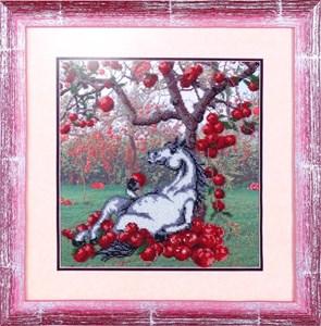 Изображение Лошадь и яблоки