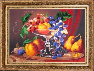Изображение Натюрморт с персиками
