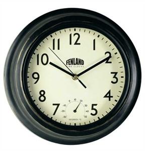 Изображение Часы Manor с термометром