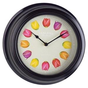 """Изображение Часы """"Тюльпаны"""" 30 см"""