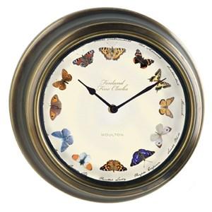 """Изображение Часы """"Бабочки"""" 30 см"""