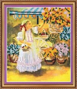 Изображение Маленькая цветочница