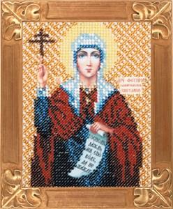 Изображение Икона Святая Фотина (Светлана)