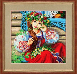 Изображение Василинка и шмель