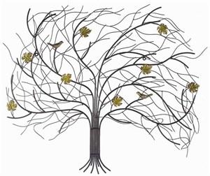 """Изображение Декор настенный """"Дерево на ветру"""" 62 см х 75 см"""