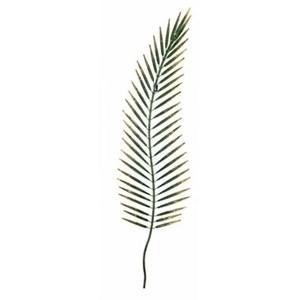Изображение Декор настенный Пальмовый листок