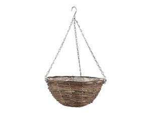 Изображение Корзина подвесная ротанг, 35 см