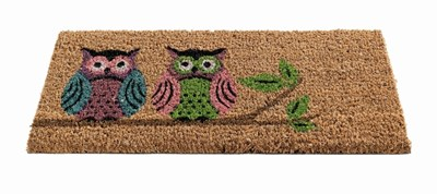 Изображение Вставка Perching Owls H23cm x W53cm