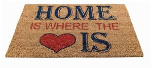 Изображение Коврик Home is Where The Heart Is H45cm x W75cm