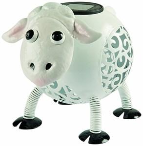 Изображение Фигура садовая с подсветкой Овца 19 * 15 * 14см, металл