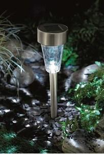 Изображение Светильник на солнечной батарее Glass Marker Light 37см * 7.5см