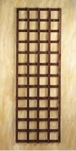 Изображение Панель решетчатая, коричневая, 180 * 30см, дерево