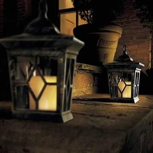 Изображение Светильник мигающий Свеча 2шт на солн батарее